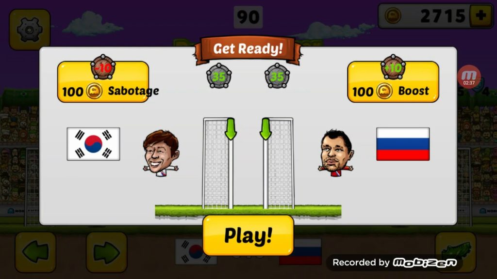 Puppet Soccer 2014. Play Football game