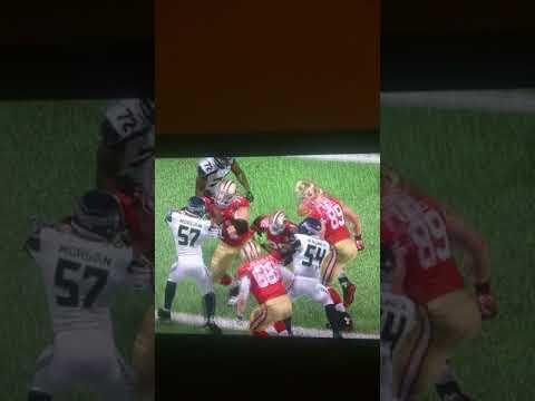 Seattle Seahawks vs San Francisco 49ERS.  ( 4TH Quarter)