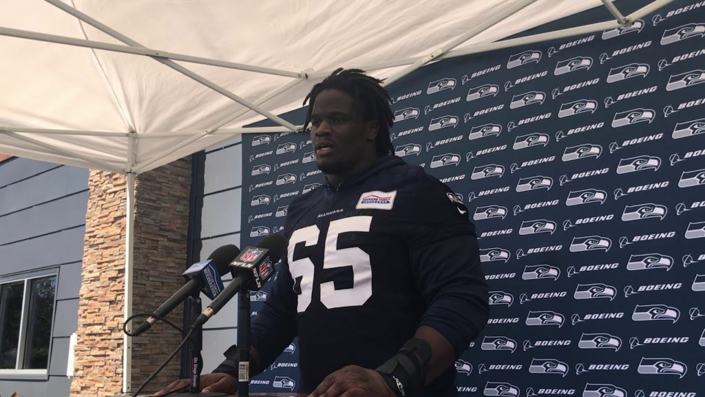 Germain Ifedi on  Seahawks not picking up  fifth year