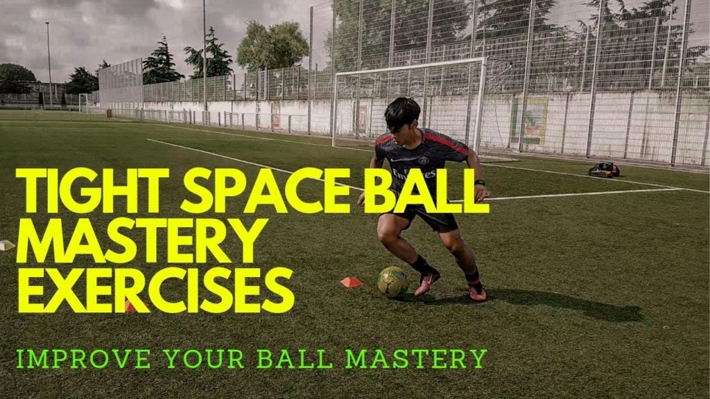 Tight Space Ball Mastery Exercises| Improve Your Ball Control In Tight Spaces