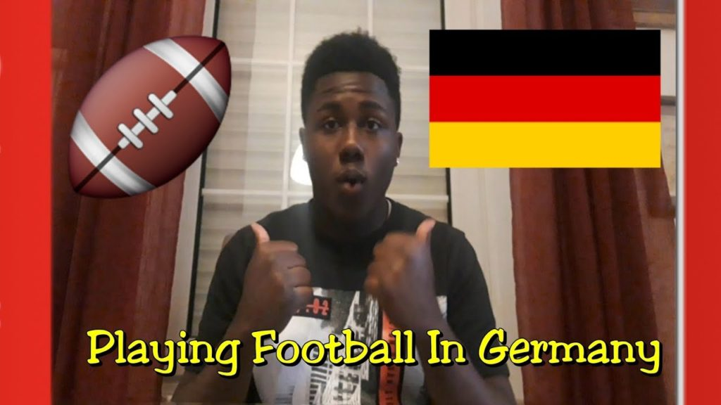 How is it for an American playing football in Germany??