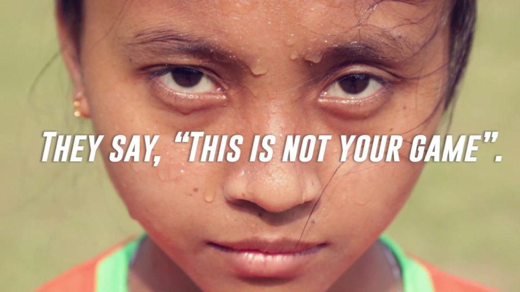 We will play football – World Vision India's girls' football teams