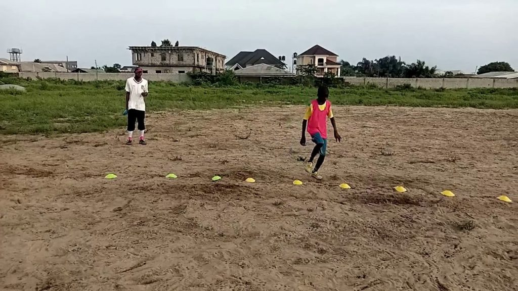Decentralized Football Academy Exercises training