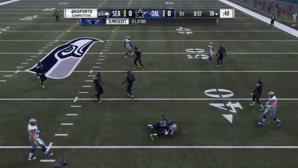 Madden 19|cowboys vs seahawks