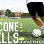 32 Close Control Dribbling Cone Drills   Improve Your Close Control Dribbling