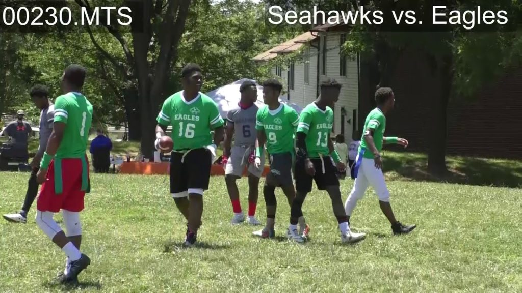 Eagles vs. Seahawks | 1012 Sports Mentoring Program | Football 2019