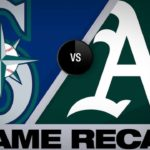 Montas, Profar help A's cruise to 11-2 win | Mariners-A's Game Highlights 6/15/19