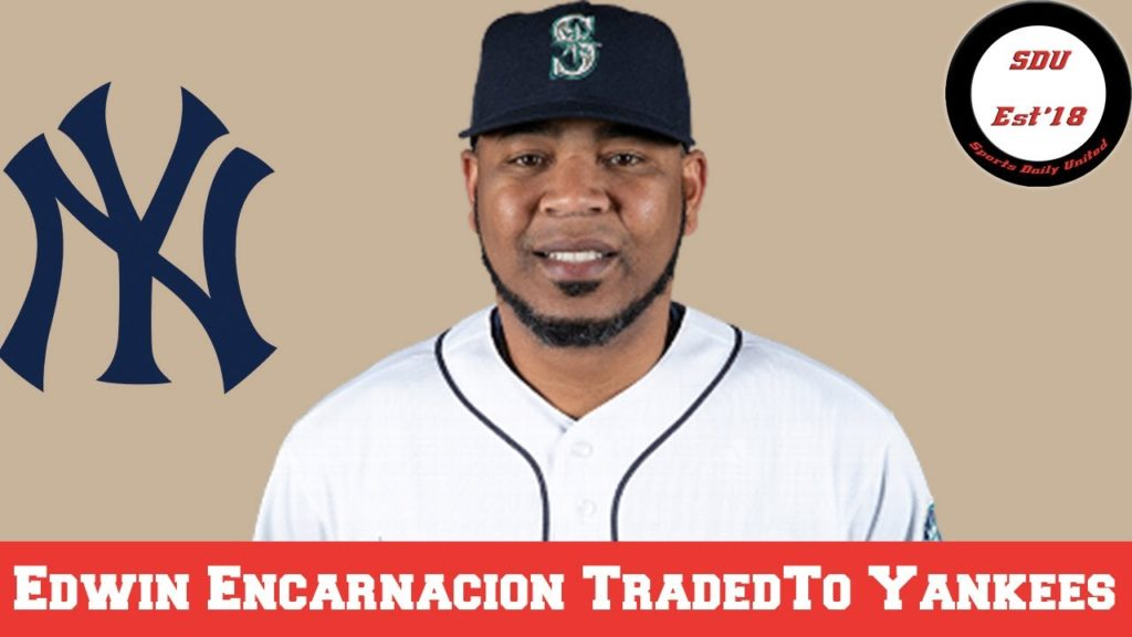 Edwin Encarnacion traded to the Yankees