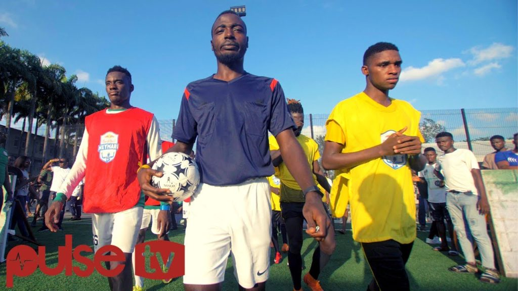 Nigeria's best football talent compete to play with Neymar JR in Brazil #redbull