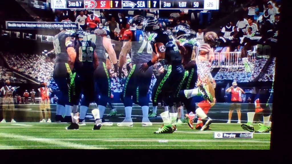 3Quarter San Francisca 49ers vs  Seattle Seahawks
