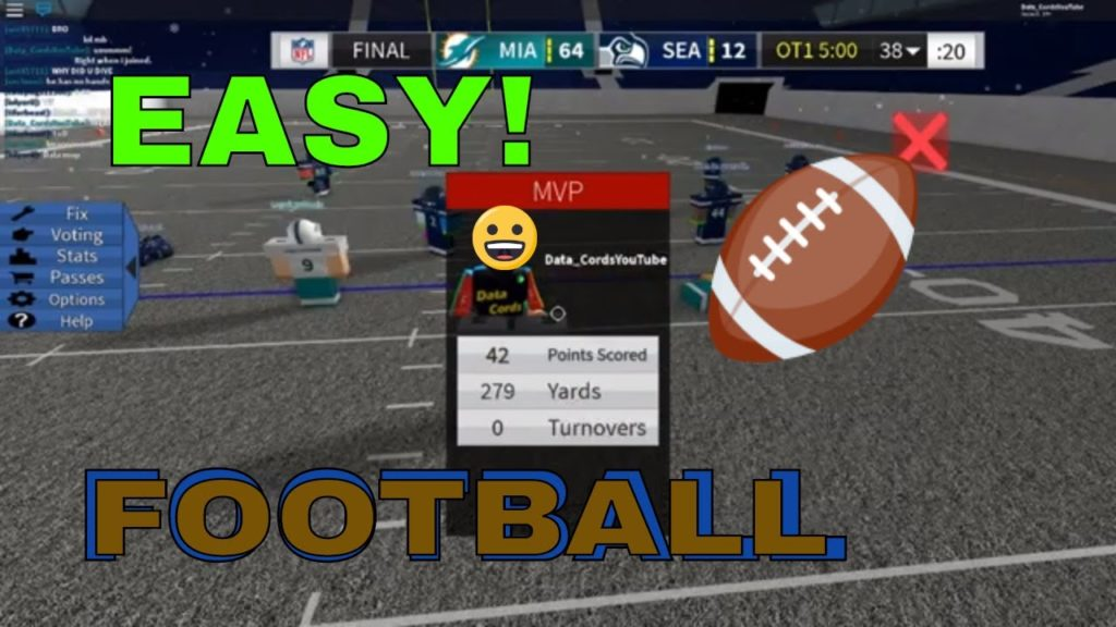 PLAYING FOOTBALL IN ROBLOX?!