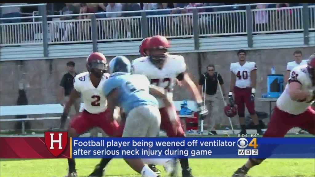 Freshman Harvard Football Player Suffers Serious Neck Injury In First Game