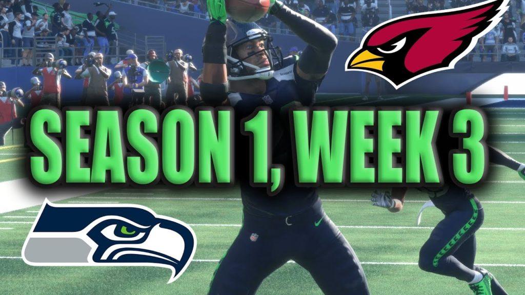 Madden 18 Seahawks Franchise Season 1: Week 3 Vs Cardinals [Ep.4]