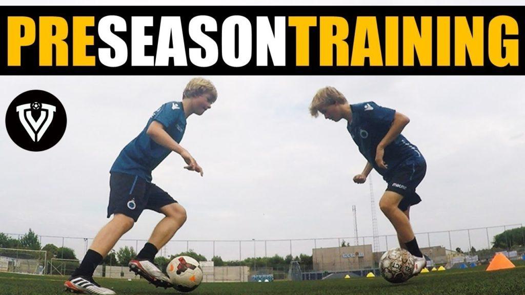 PRE SEASON FOOTBALL TRAINING | INDIVIDUAL BALL MASTERY