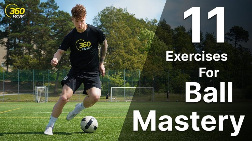 11 Ball Mastery Exercises In 2 Minutes