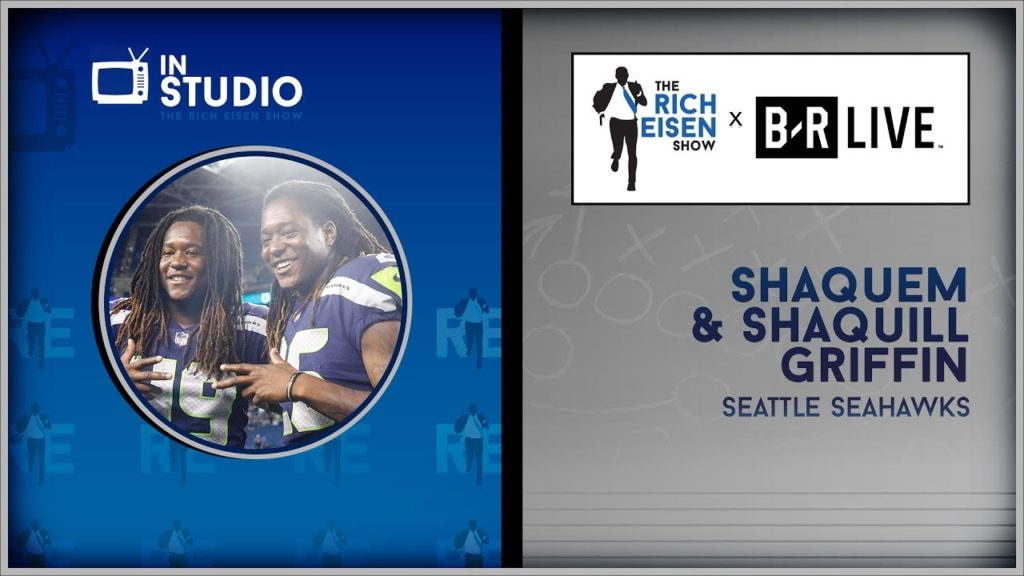 Seahawks DB's Shaquem & Shaquill Griffin Talk New Book & More w/Rich Eisen | Full Interview