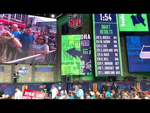 SEATTLE SEAHAWKS HYPE VIDEO   Dew Hawk NFL DRAFT pick 2019