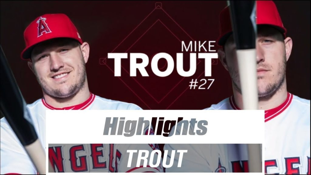 (4AB 3H 1HR 1BB) Mike Trout vs Mariners Highlights(2019.07.12)