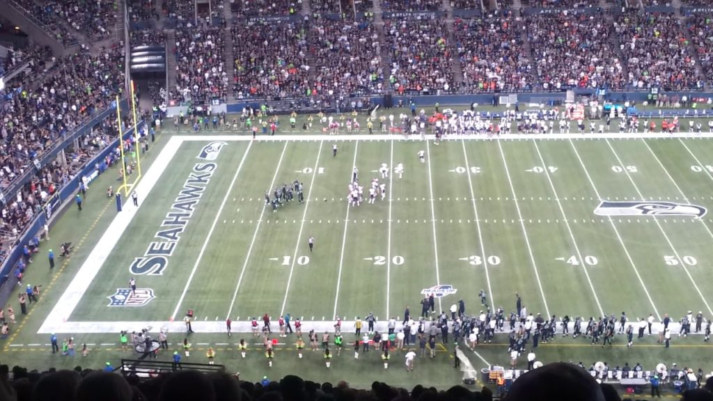 Bears at Seahawks – Interception