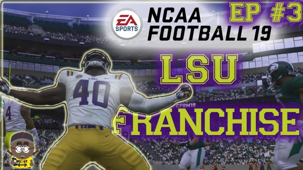 NCAA Football 19 Mod Madden 19 | Down to the final play!!! LSU Franchise EP. 3