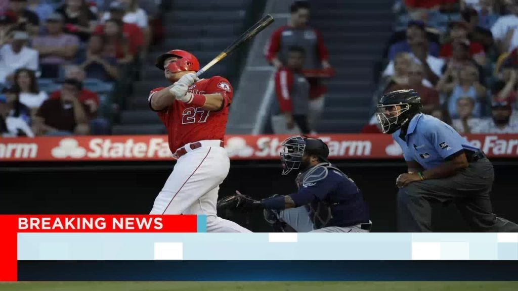 Trout, Pujols power Angels to 9-2 victory over Mariners