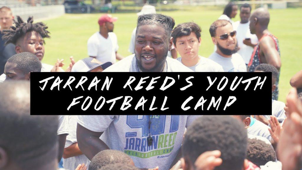 Jarran Reed 3rd Annual Football Camp