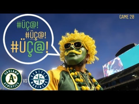 This EFFING Guy! – A's vs Mariners 7/16/19