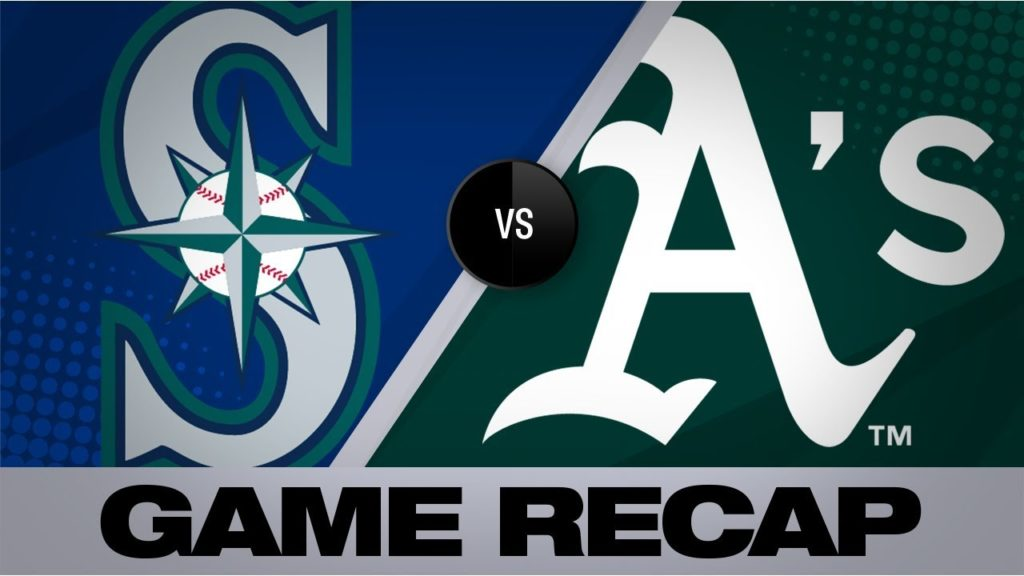 Chapman's HRs in 5-RBI game to lead A's | Mariners-Athletics Game Highlights 7/16/19