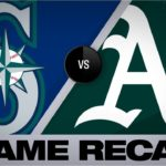 Chapman's HRs in 5-RBI game to lead A's   Mariners-Athletics Game Highlights 7/16/19