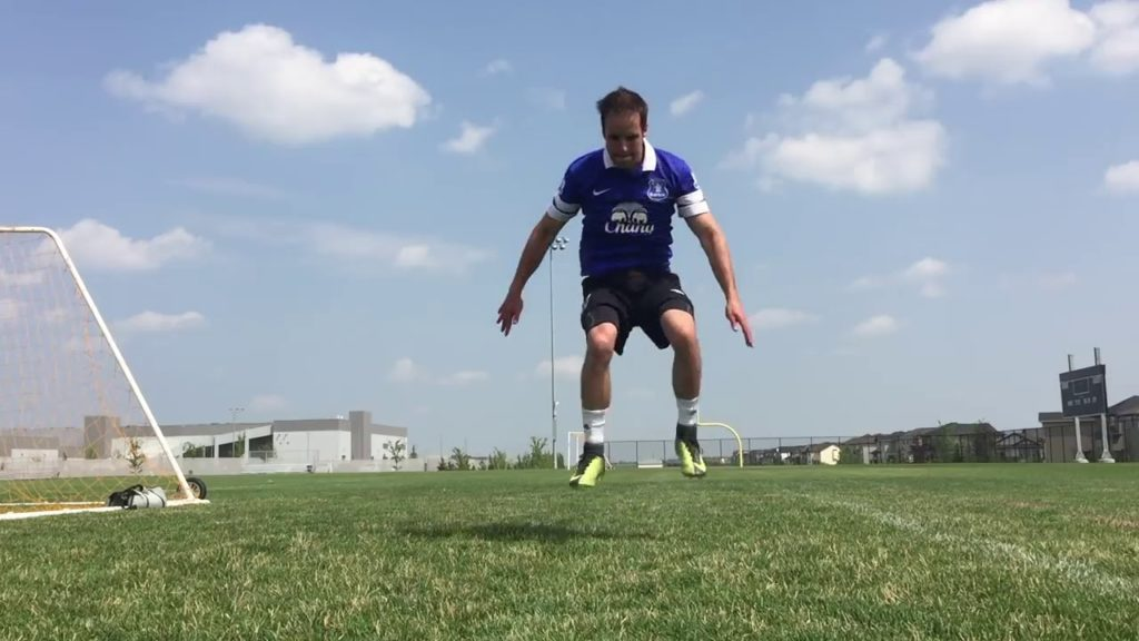 Learn How to Train and work out  soccer football player beginners tricks.