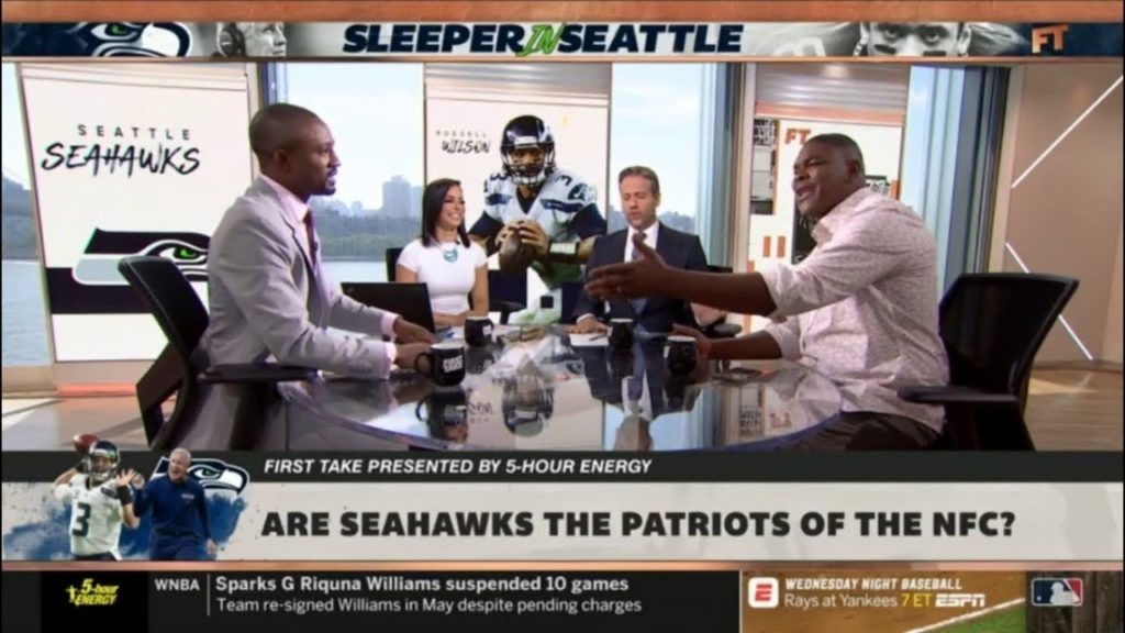 FIRST TAKE | Max Kellerman & Foxworth DISCUSS: Are Seahawks the Patriots of the NFC?