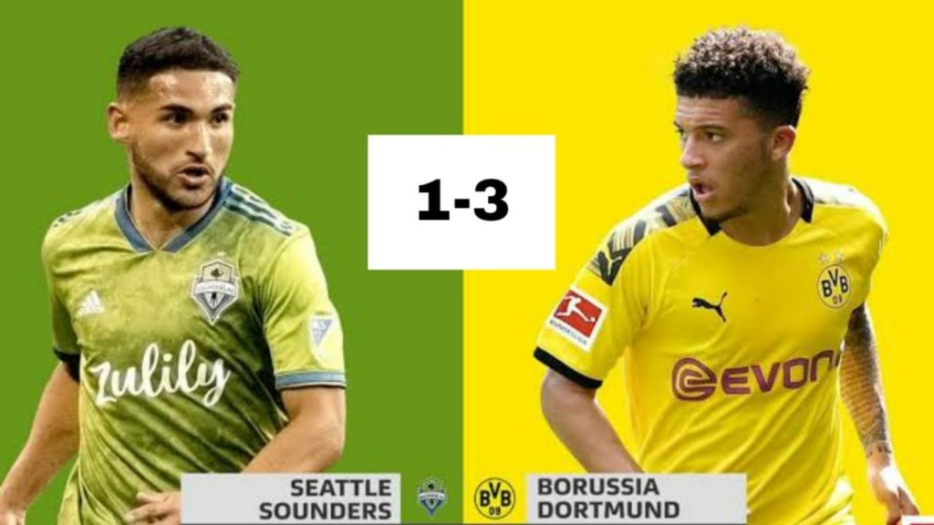Seattle Sounders vs. Borussia Dortmund 1-3 HIGHLIGHTS