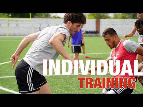 Football/Soccer Training Drills – 5 Simple Exercises to Improve Your Technical Ability