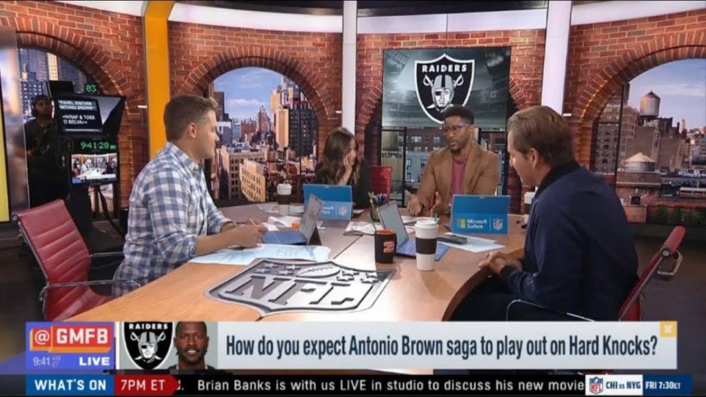 GOOD MORNING FOOTBALL – How do you expect Antonio Brown saga to play out on Hard Knocks?