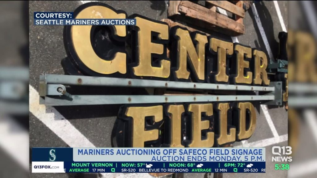 Mariners auction off Safeco Field signage