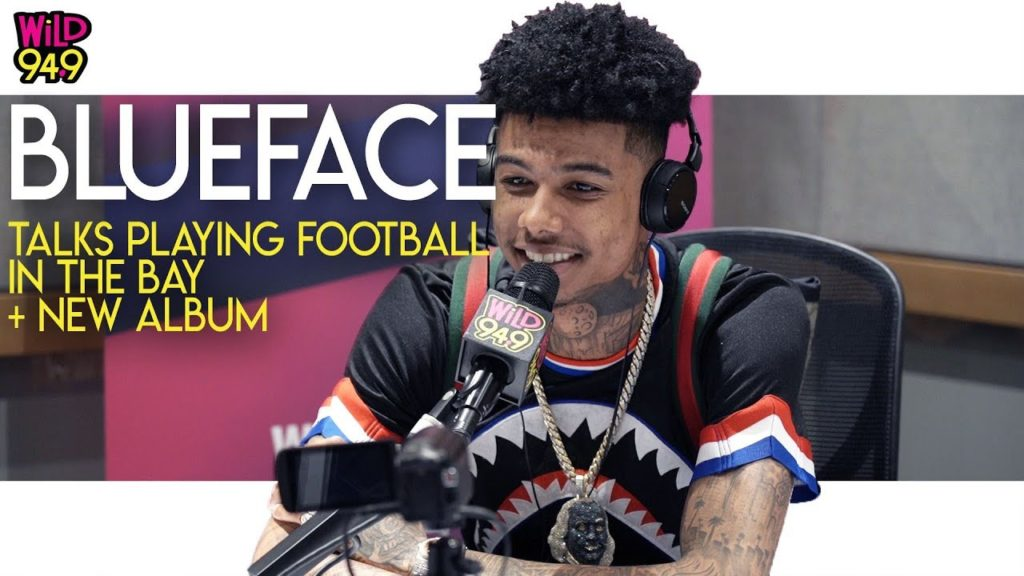 Blueface Talks Playing Football In The Bay And New Album