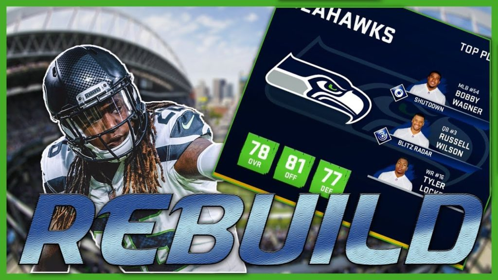 Russell Wilson Doesn't Slow Down | Madden 20 Seattle Seahawks Rebuild