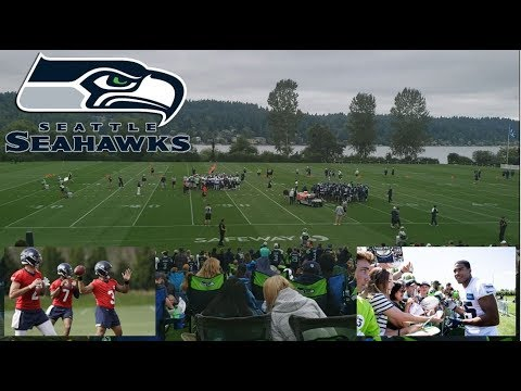 Seahawks Training Camp Practice August 2019 | Exclusive Footage