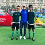 FIFA World Cup: Iraqi child refugee plays football in the Red Square