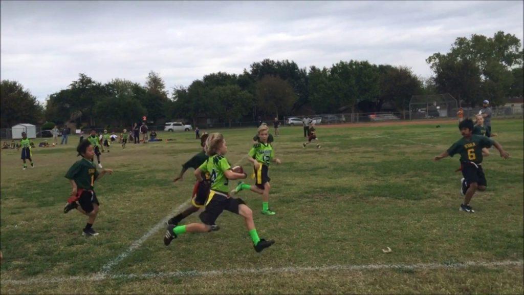Brody Fall 2016 Flag Football Highlights