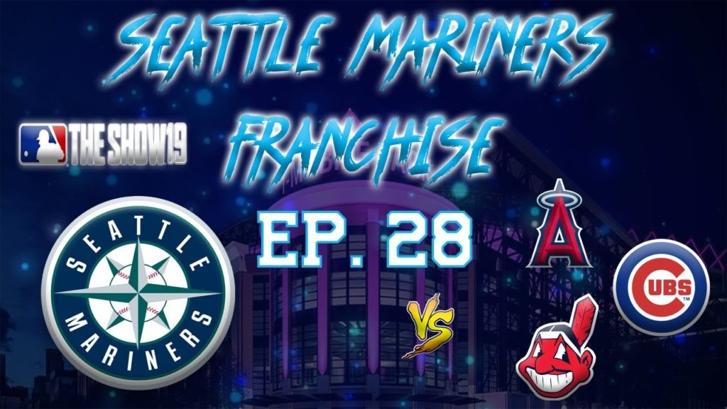DRAFT TIME!!! | Seattle Mariners MLB the Show 19 Franchise Rebuild | Ep28 June (Angels/Cubs/Indians)