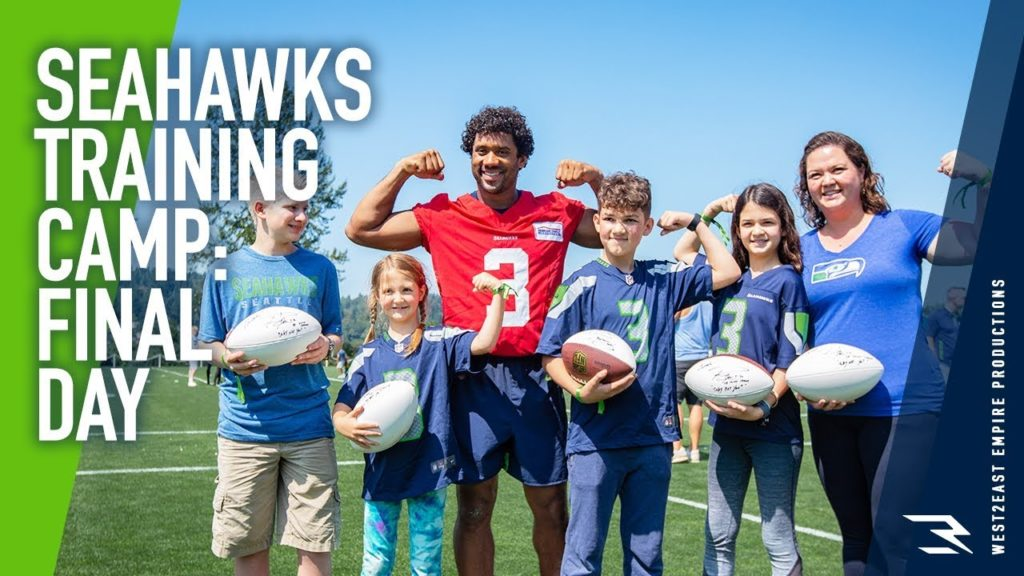 FINAL DAY OF SEAHAWKS TRAINING CAMP 2019!