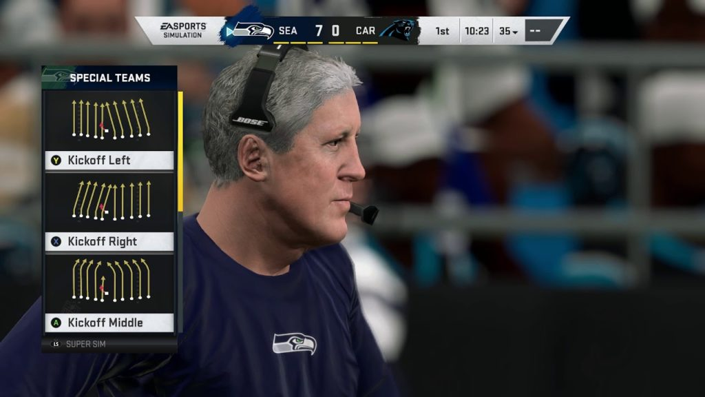 Madden NFL 20 – Seattle Seahawks vs Carolina Panthers