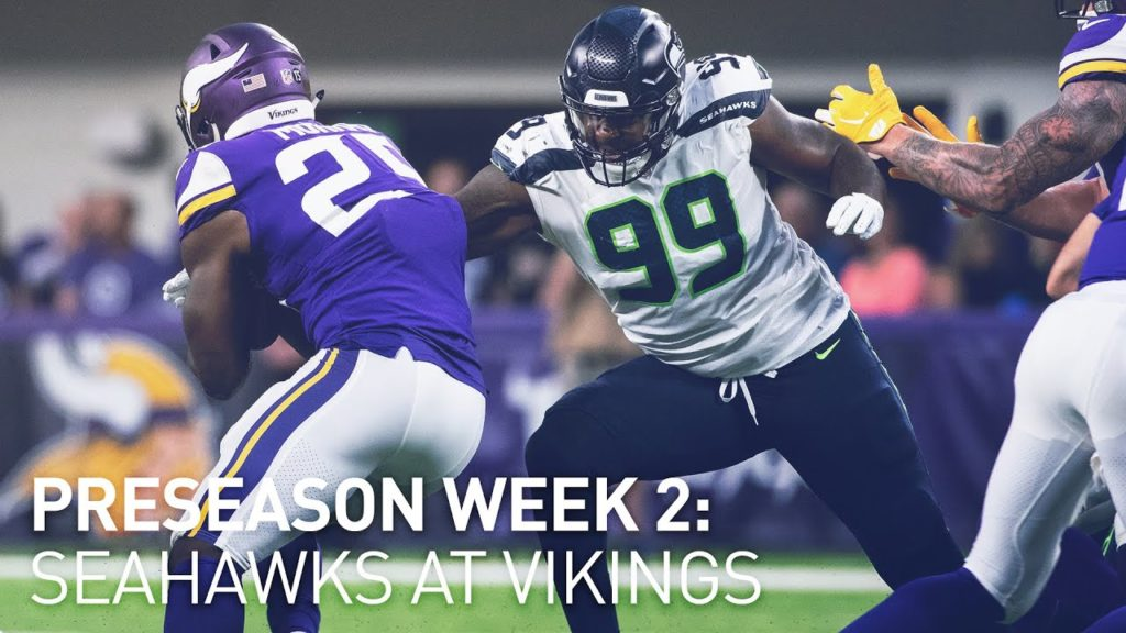 Preseason Week 2: Seahawks at Vikings Preview