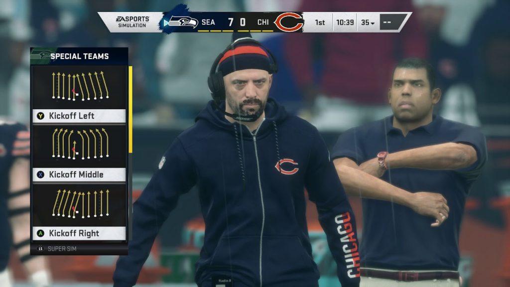 Madden NFL 20 – Seattle Seahawks vs Chicago Bears