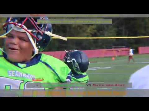 GYFL Week 2 JV || Battle for 301|| Maryland Seahawks 40 vs  Maryland Heat 25