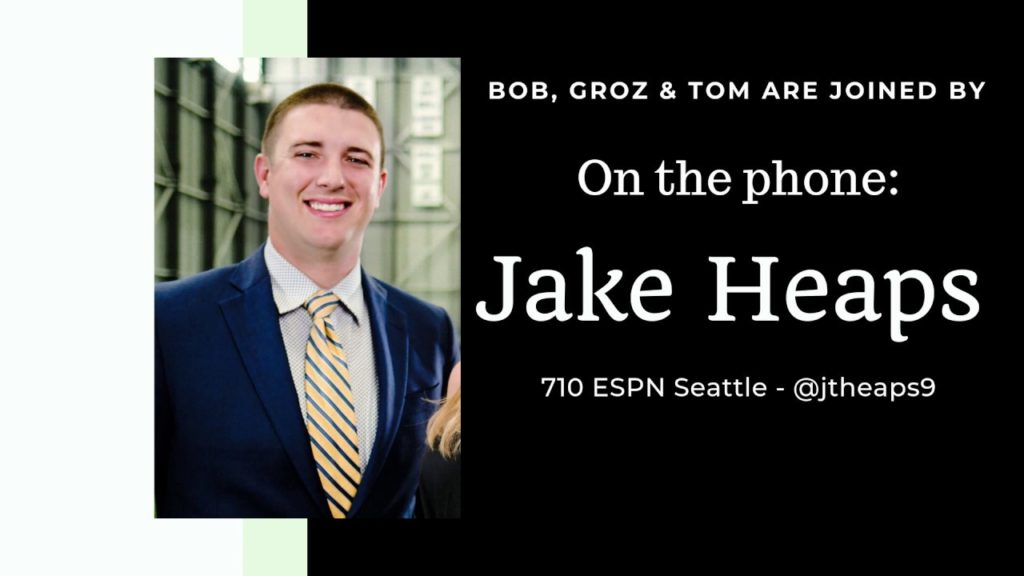 Jake Heaps breaks down Seahawks' Week 1 win on Bob, Groz & Tom