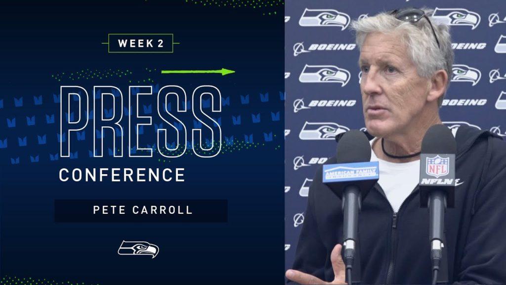 Head Coach Pete Carroll Week 2 Friday Press Conference | 2019 Seattle Seahawks