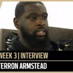Terron Armstead Preparing For Noise in Week 3 at Seattle | New Orleans Saints Football