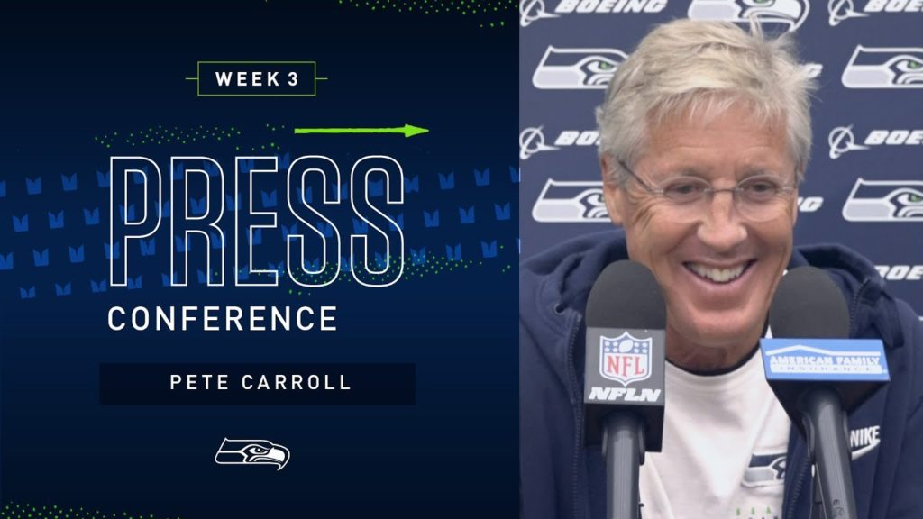 Head Coach Pete Carroll Week 3 Friday Press Conference | 2019 Seattle Seahawks